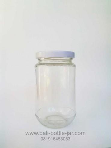 300ml toples selai jar with lid – Rp. 5.500/pcs new