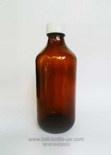 Amber Glass Bottle 300ml – Rp 3.000,-
