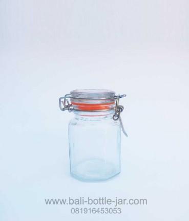 Hexagonal Candy Jar 125ml
