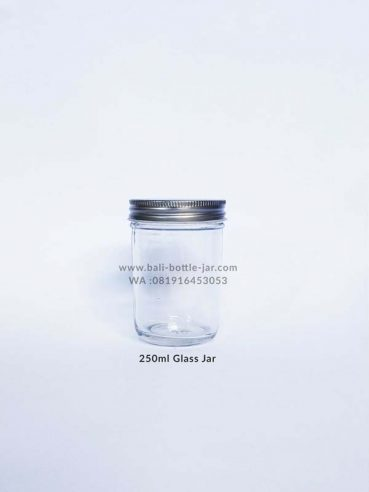 250ml Glass Jar 7.000/pcs
