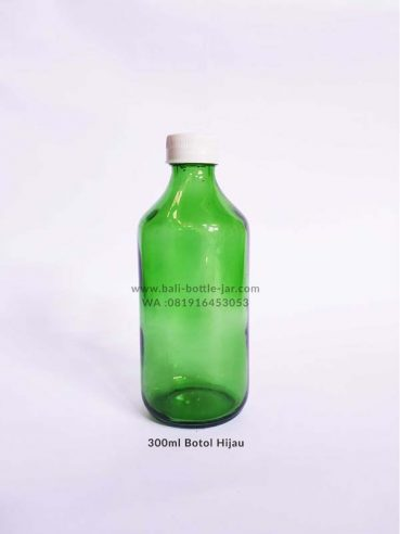300ml Green Bottle 3.500/pcs