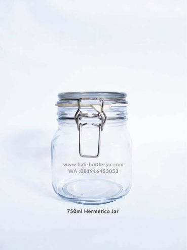 750ml Hermetico Jar 18.500/pcs