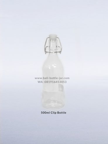 500 Ml Clip Bottle 27.500/pcs