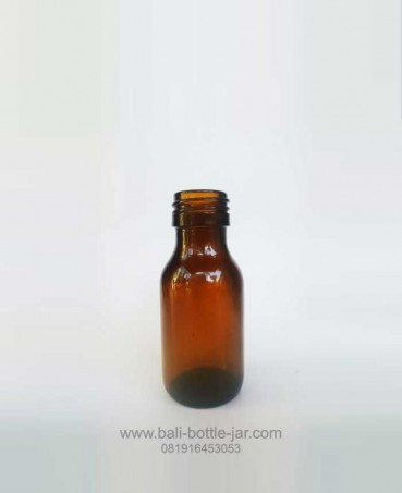 60ML GLASS BOTTLE WITH SCREW CAPS – Rp. 2.500/pcs
