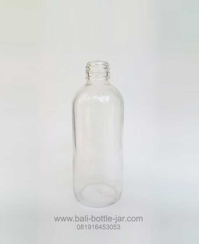 250ML ROUND GLASS BOTTLE WITH SCREW CAPS – Rp. 3.600/pcs