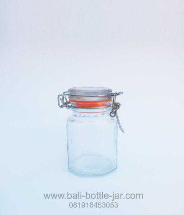 Hexagonal Candy Jar 125ml