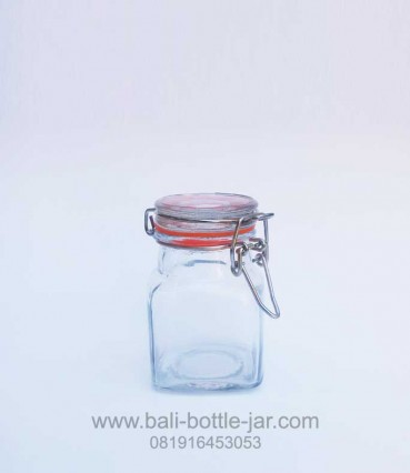 Square Candy Jar 125ml – Rp. 12.000