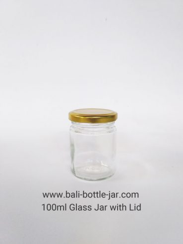 100ml Glass jar Rp. 6.500