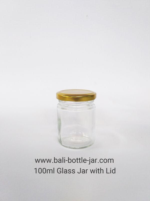 100ml Glass jar Rp. 6.500