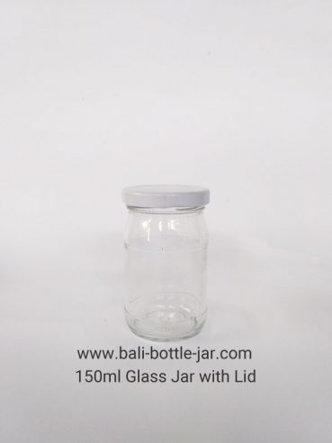 150ml Glass Jar Rp 4.500