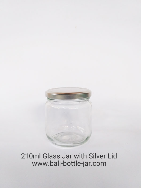 210ml glass jar – Rp. 7.000