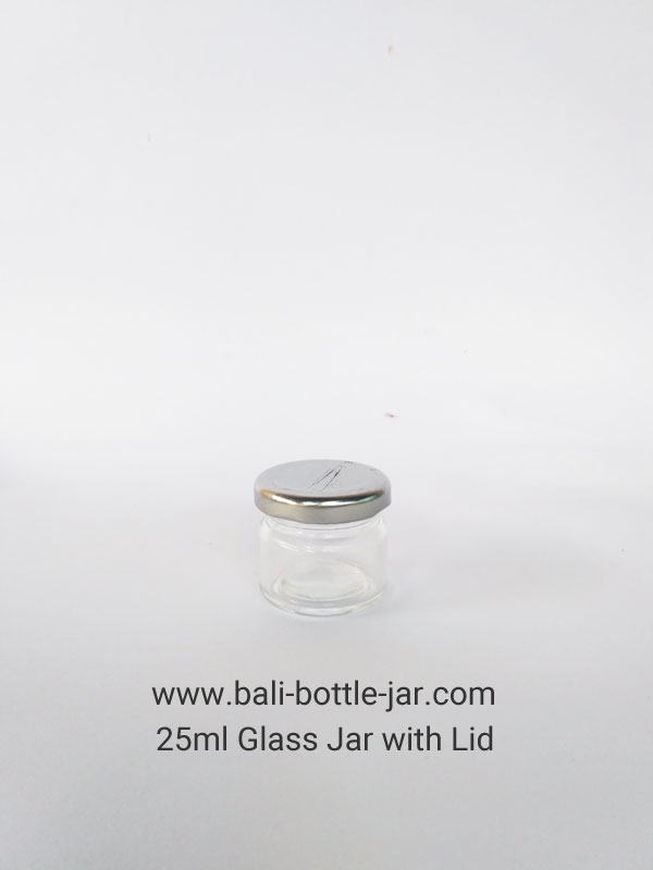25ml Glass Jar – Rp. 5.000,-