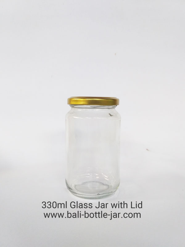 330ml Glass Jar Rp 4.800,-