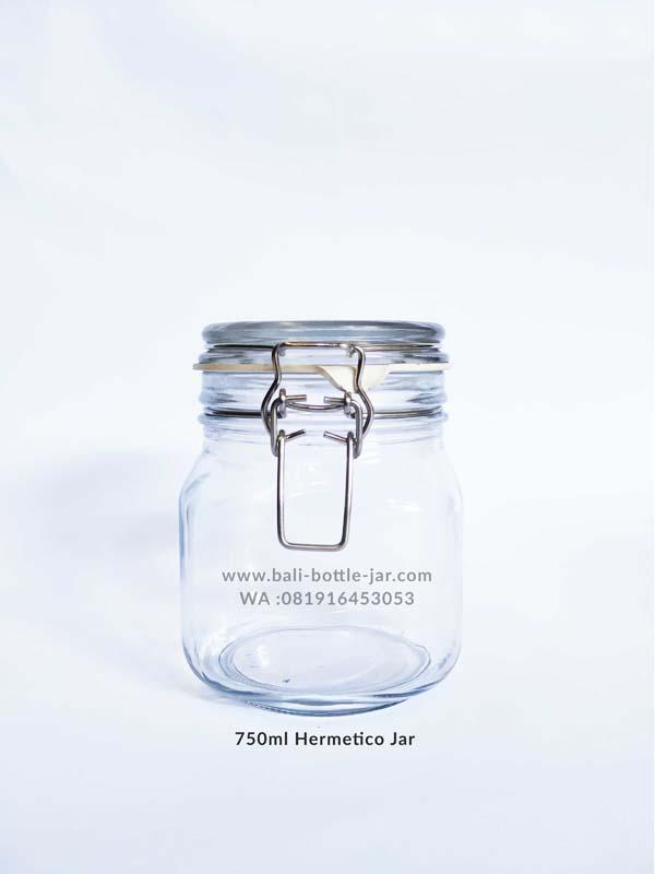 750ml Hermetico Jar 18.500/pcs