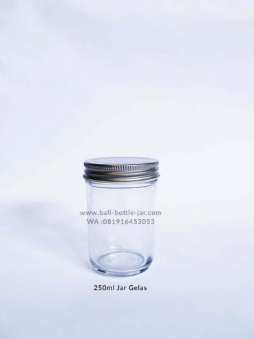 250ml Glass Jar 7000/pcs