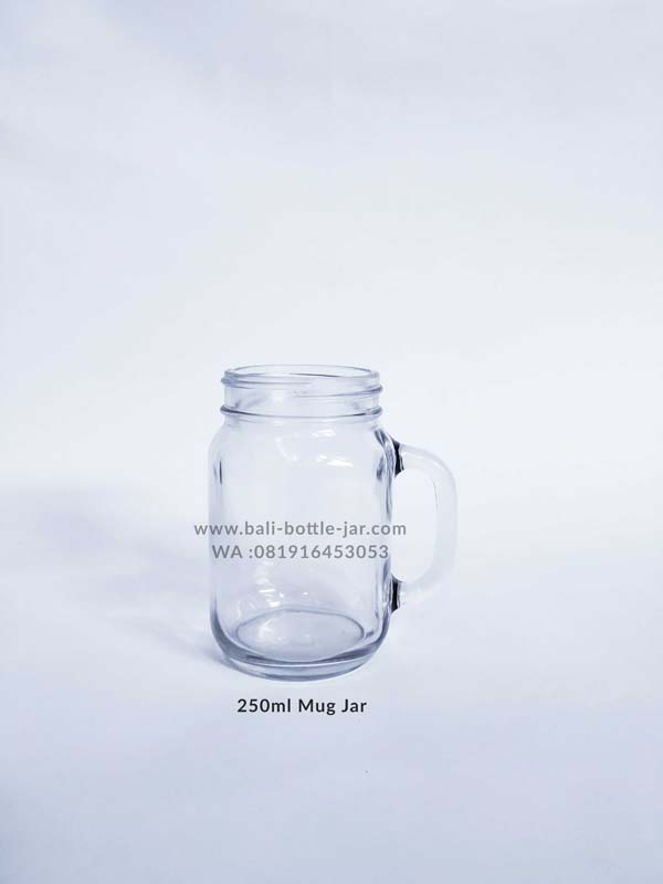 250ml Mug Jar 7.500/pcs