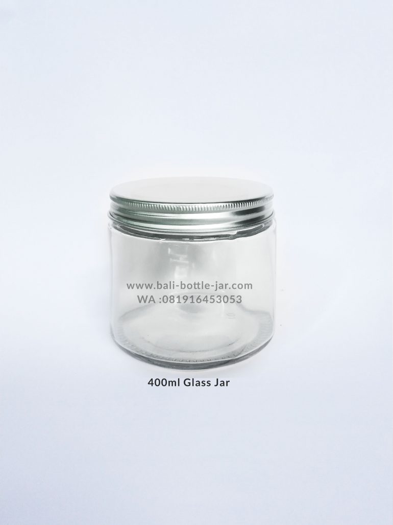 400ml Glass Jar 9.500/pcs